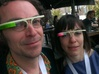 Google Glass Replica Fake MK3 - LIMITED EDITION 3d printed GLOW IN THE DARK SPECIAL EDITIONMK1(PAINTED)