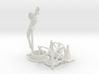 Manhole davit crane 02. 1:24 scale 3d printed
