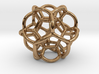 Soap Bubble Dodecahedron 3d printed