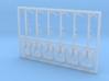 6 Stück Rettungsweste mit Halter Typ-A 1:40 3d printed