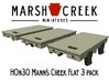 HOn30 Mann's Creek Flatcar 3 pack 3d printed