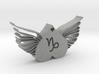 Capricorn Heart 3d printed