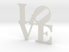 LOVE Sculpture wall decoration 3d printed