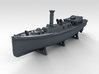 1/700 WW2 RN Boat Set 4 with Mounts 3d printed 50ft Steam Pinnace