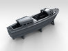 1/400 WW2 RN Boat Set 4 with Mounts 3d printed 35ft Admirals Launch