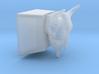 Bison Skull Cherry MX Keycap 3d printed
