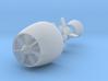 1-350 Pump Jet Seawolf Submarine Propeller 3d printed
