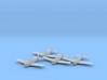 Grumman F6F-5 'Hellcat' 1:200 x4 3d printed