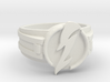 V3 Wavy Flash Ring Size 14 23.01mm 3d printed