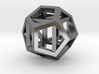 dodecahexahedron 3d printed