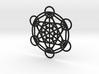 Metatron Grid Pendant 3d printed