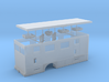 1/87th Hydraulic Fracturing Data Truck body, singl 3d printed