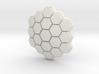 Hexagonal Energy Shield, 4mm Grip 3d printed