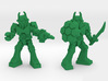 Waruder Battas Squad, set of 4 35mm Minis 3d printed Gunner and Hive Guard