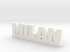 MILAN Lucky 3d printed