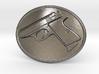 PPK GUN Beltbuckle 3d printed