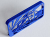 Muscular Cyclist iPhone 5/5s Case 3d printed logo of Muscular Cyclist iPhone5/5s Case in royal blue