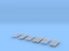 DBS4000 Set für PKW und Transporter - 15Stück 1/87 3d printed