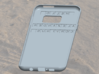 Case for Samsung Galaxy S7 Edge with your name 3d printed