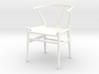 1:12 Modern Dollhouse Chair  3d printed