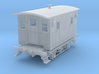 Caboose 4 Wheel Ulster and Delaware S Scale 1/64 3d printed