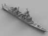 1/1800 JS Akizuki-class destroyer 3d printed Computer software render