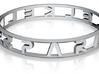 "Parallelkeller Ring ""Round'N'Round"" Rafinesse 3d printed"