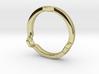 HEX 3 Ring - Slim edition 3d printed