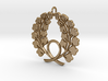 Matsuya Wreath Pendant 3d printed