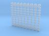 1/400 Scale RN WW2 Splinter Mattress x99 3d printed 1/400 Scale RN WW2 Splinter Mattress x99