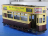 4mm scale Brighton 'F' class Tram  No Seats on upp 3d printed