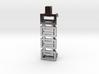 Interlocking Boxes Pendant for Fitbit Flex2 3d printed