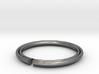 Secret Hidden Heart Ring (Size 4) 3d printed