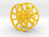 Wheels For Hot Dog Cart 3d printed