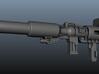 MP-10 Blaster 3d printed