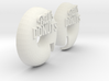 Donut Sign 3d printed