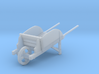 18th Century Wheelbarrow w/ Sides 1/24 3d printed