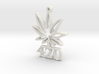 420leafup 3d printed