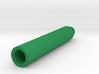 100mm 14mm+ External Airsoft Barrel Extension 3d printed