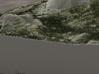 Half Dome, California, CA, 1:15000 3d printed