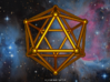 Icosahedron 3d printed Artist impression of the icosahedron