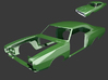 Dodge Charger 1968 Body 1/8 3d printed