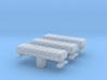 1/87 Lightbar #17 AeroDynic Lights set of 3 3d printed