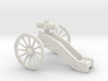 AF French Howitzer 7 Years War 28mm 3d printed