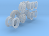 1-24 900x20 M35 Tire And Wheels Set2 3d printed