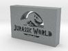 Jurassic World Logo 3d printed