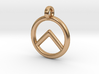 Spartan Shield Pendant/Keychain 3d printed