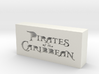Pirates of the Caribbean Logo 3d printed