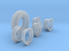 1-24 900x20 M35 Tire And Wheels Sample Set5 3d printed