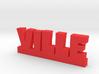 VILLE Lucky 3d printed